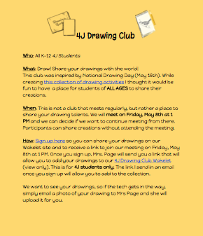 New Drawing Club!