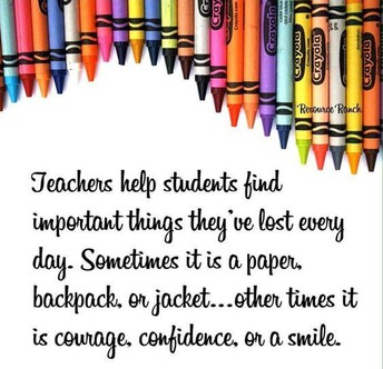 Smiles are important to win a Teacher's heart-