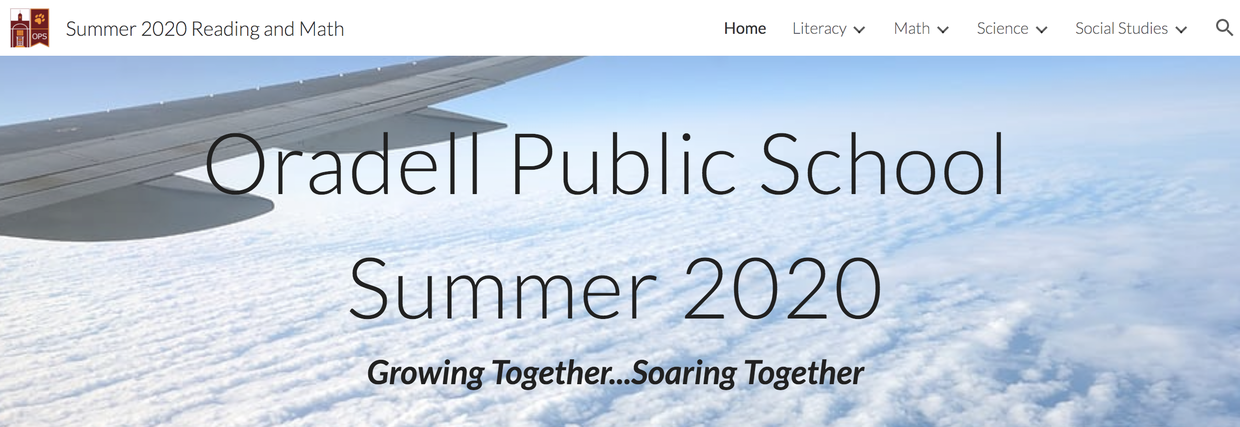 OPS 2020 Summer Learning Website