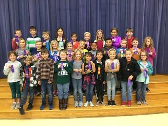 3rd Grade Perfect Attendance
