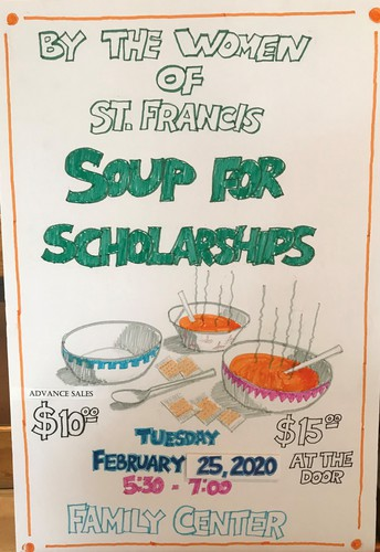 WOSF Soup for Scholarships