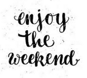 Enjoy your 3-day weekend!