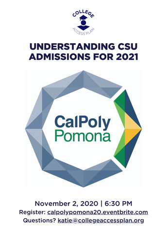 Understanding CSU Admissions for 2021