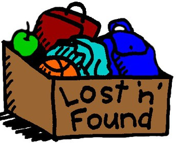 Lost & Found - Donated on Friday, September 27th