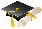 Cap & Gown for Upcoming Graduates