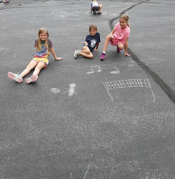 1st grade made musical notes on their last day of music class