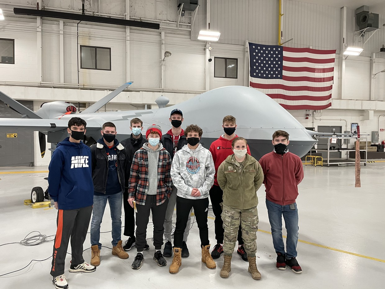Drone Class at 174 Attack Wing
