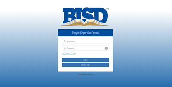 Birdville Single Sign On Portal