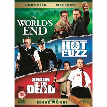 The Three Flavours Cornetto Trilogy [The World's End/Hot Fuzz/Shaun of the Dead] (2013, 2007, 2004)