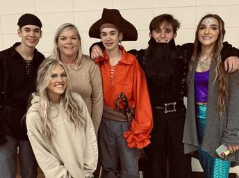 Lori James & Members of the Silver's Secret Cast