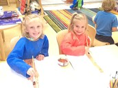 Painting for the rainforest.