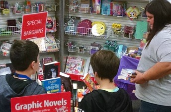Gananda Middle School Book Fair is December 5 - 10