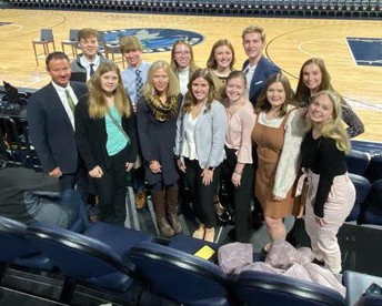 MARS students attend Timberwolves Business Club Day