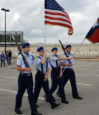 AFJROTC Color Guard