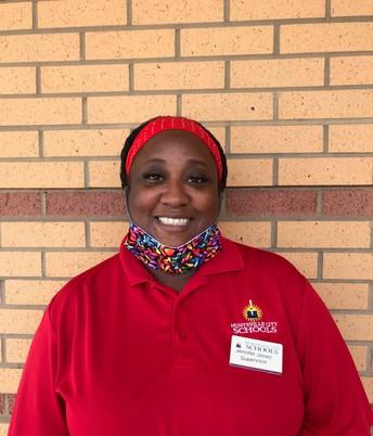 Ms. Jennifer Jones - CNP Supervisor of the Month, Williams Elem./Middle