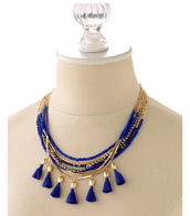 Tulum Tassel Necklace