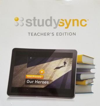 StudySync Teacher and Student Books