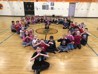 VALENTINES DAY FUN IN THE GYM....