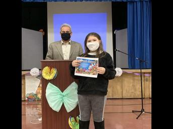 Berwyn Mayor Robert Lovero Presents Ice Cream Certificates