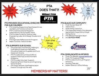 PTA Membership Matters!