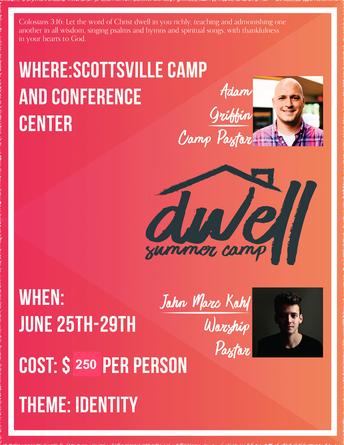 DWELL Summer Camp