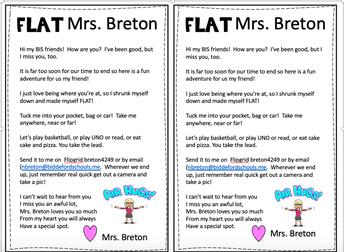 Flat Mrs. Breton letter