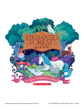 Enchanted Forest Book Fair is HERE!