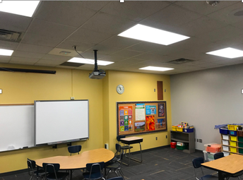 New Painted Classroom