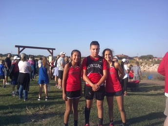 Cross Country:  Girls place 3rd and Boys place 7th