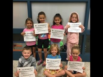 Kindergarten Bully Free Winner!