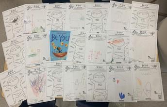 "Owl Class - ""Be You"" Drawings"
