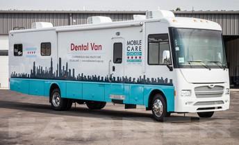 Dental Van is Coming