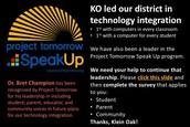 Project Tomorrow Speak Up!