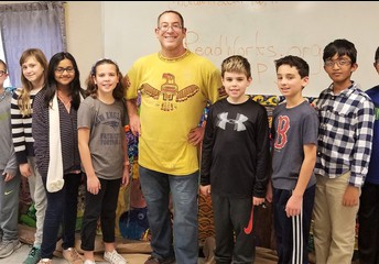 STUDENTS' SPOTLIGHT- Sanborn 5th Graders Create Lasting Mural