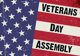 Veterans Day Assembly - Thank You!
