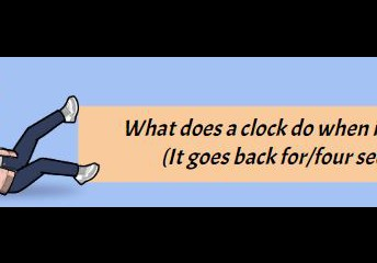 Clock Humour - Grade 3s learn time
