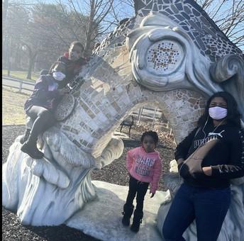 Hershey Park posing!