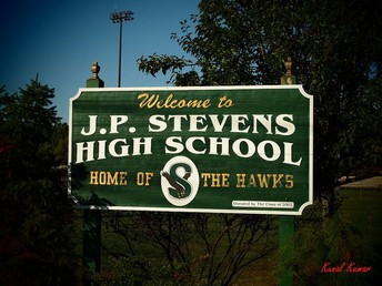 """John P. Stevens High School """"Home of the Hawks"""""""