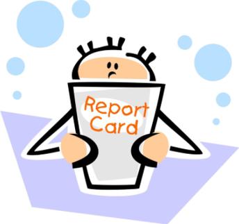 kid and progress report icon