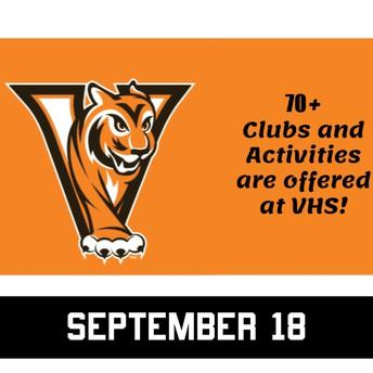 Virtual Valley Club & Activity Fair