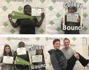 Instant Viking Day - Acceptance to Portland State University
