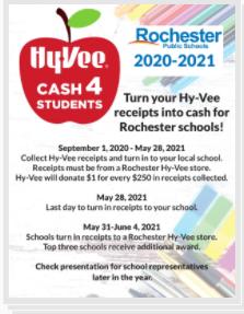 HyVee Receipts