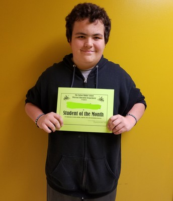 Student of the Month!!!