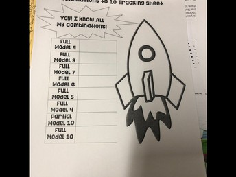 1st grade tracking sheets