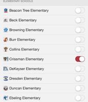 Step 3- Select Crissman Elementary