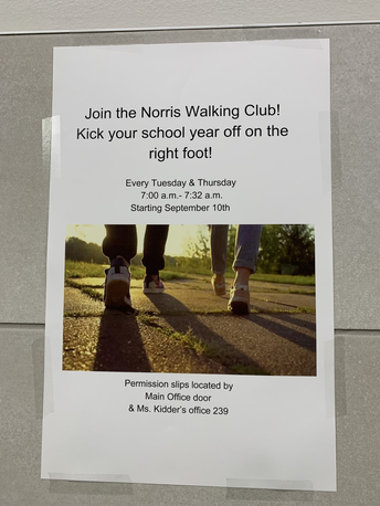 Norris Walking Club