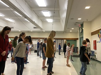 Parents Join in on the Last Dance of 4th Grade Dancing