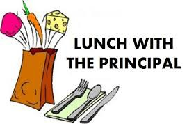 LUNCH WITH THE PRINCIPALS!--Thurs 11/8