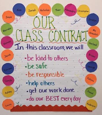Classroom Social Contracts