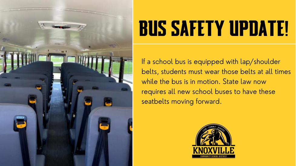 School bus safety update.